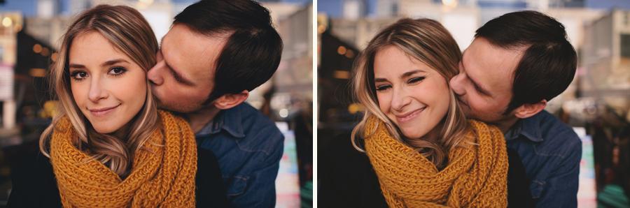 couple kissing seattle map shop